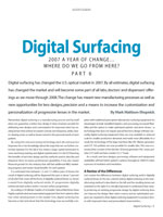 Digital Surfacing