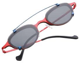 bf3e73e50f David Salk s custom clip-on sunglass empire