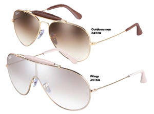 ray ban aviator by luxottica
