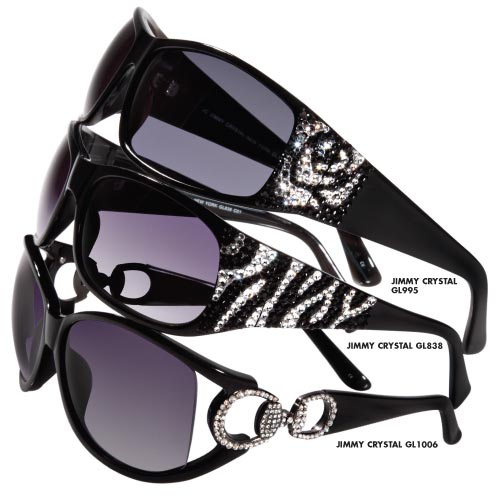 A Amp A Optical Jimmy Crystal Eyewear