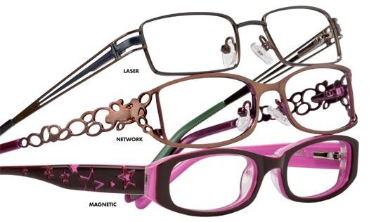 designer rimless glasses  chloe designer