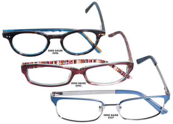 photographed by black box studios - Eddie Bauer Eyeglass Frames
