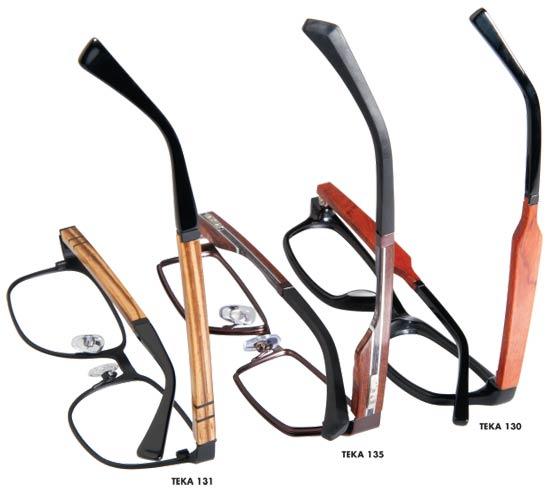teka eyewear wood collection