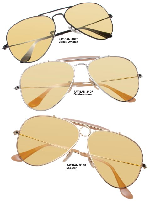 Ray Ban Yellow Lenses