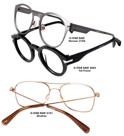 Marchon G Star Raw Optical Collection