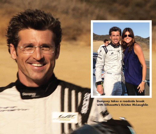 Patrick Dempsey Casts A Great Silhouette