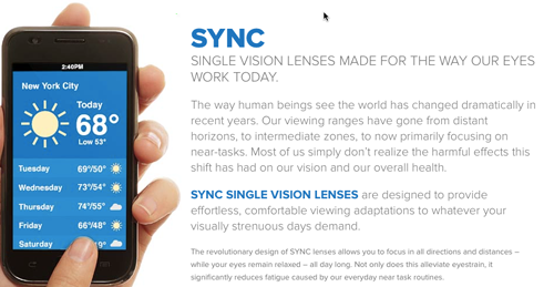 In Sync with Your Patients: Hoya's Sync Lens
