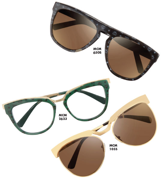 "1ac4f63f020 PHILOSOPHY  ""MCM is boldly interpreted in its fall winter 2016 eyewear  collection"