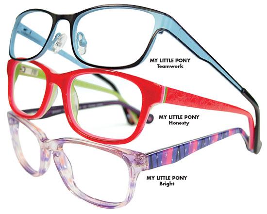 Nouveau Eyewear My Little Pony Optical Collection