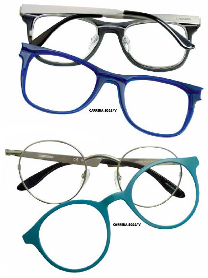 """a6be3121ed907 PHILOSOPHY  """"These innovative Carrera interchangeable ophthalmic styles  were designed to appeal to the Millennials  eclectic spirit—staying true to  their ..."""