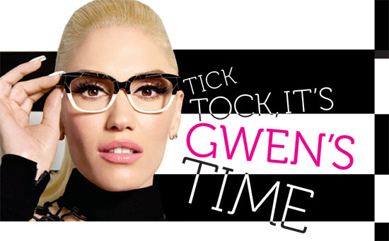 8ee3d5fc9bd Songstress and fashion designer Gwen Stefani lends her spunky style to Tura  for two new rockin  eyewear collections