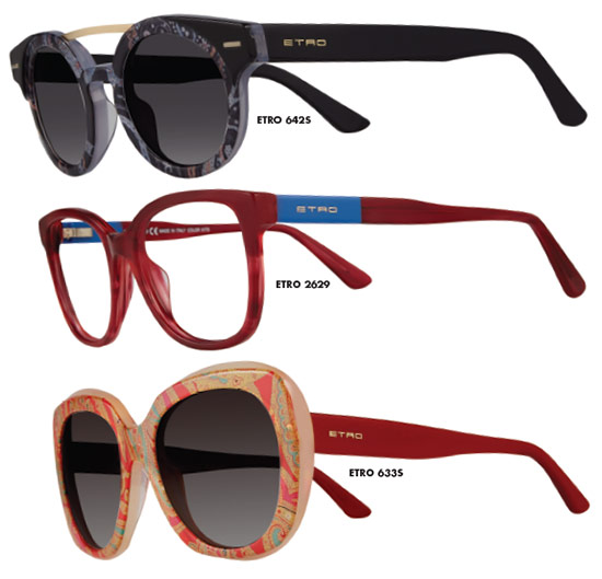 MARCHON EYEWEAR: Etro Eyewear
