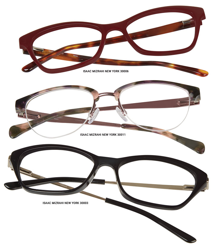 Isaac Mizrahi Eyeglass Frames Jcpenney : Isaac Mizrahi New York Optical Collection