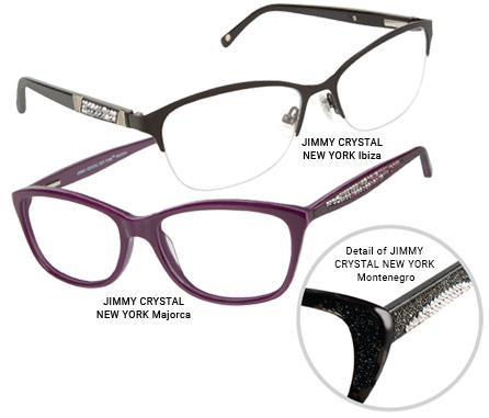 Jimmy Crystal New York Eyewear Collection