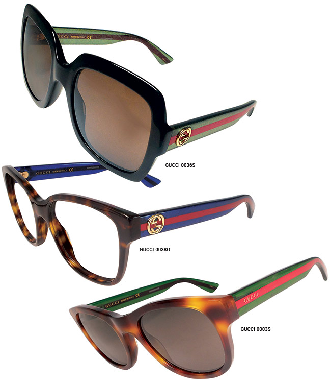 gucci eyeglass frames. kering eyewear debuts its gucci collection creative director alessandro michele has infused a feel of eyeglass frames