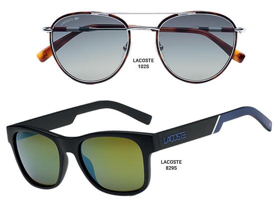Lacoste Novak Djokovic Eyewear Collection