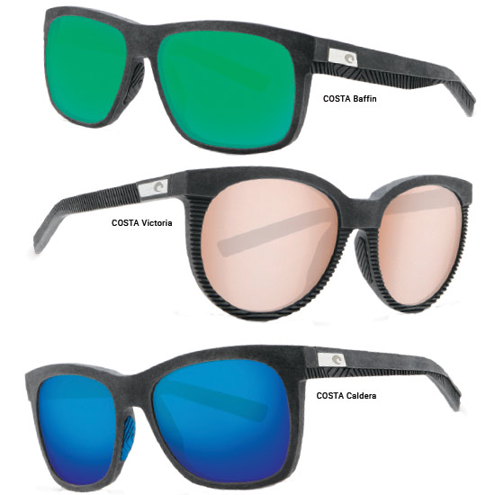 b6efd1b94fa Costa debuts its limited-edition Untangled Collection in partnership with  Bureo. Featuring four new sunglass styles