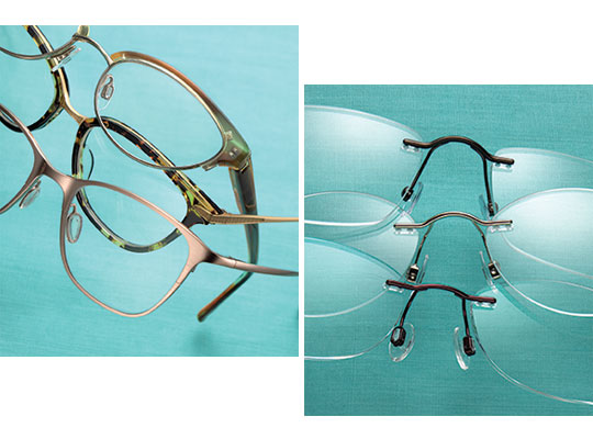 2310839c2e8 Photo on left from top  Layla 8661 from Bevel Specs  MARY JANE from Barton  Perreira  ABBE 1153T from Oliver Peoples